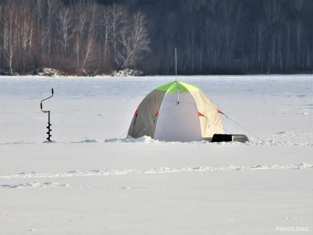 Зимняя рыбалка на водохранилищах