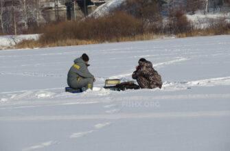 Ловля подлещика на озерах зимой