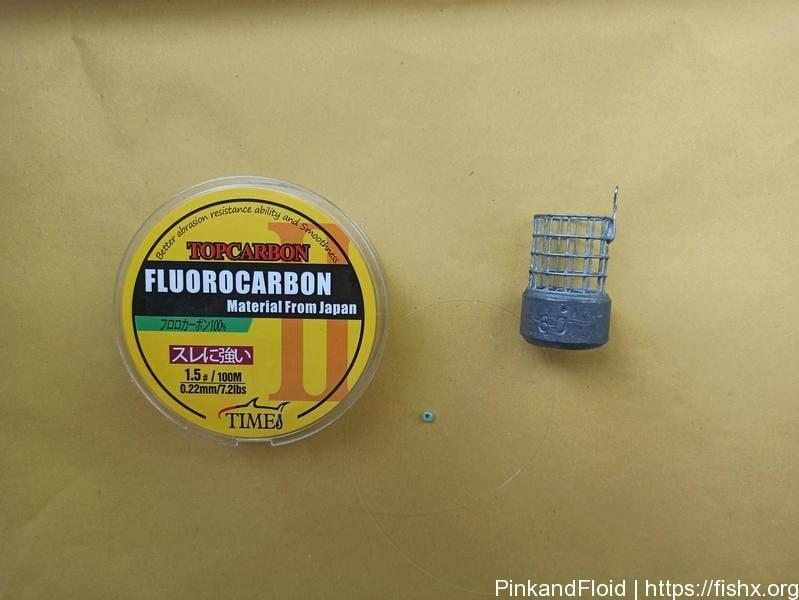 Как сделать отвод из флюрокарбона для поводка