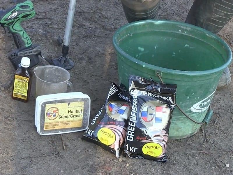 Прикормка для ловли сазана на фидер