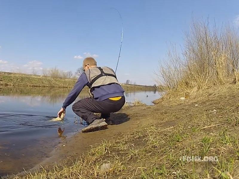 Места ловли рыбы