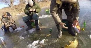 Ловля сазана впериод ледостава