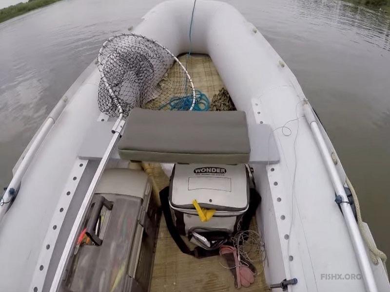 Лодка для тролла
