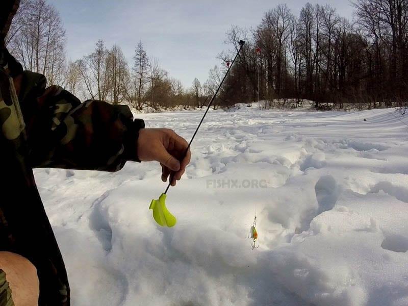 Отчёт о ловле в начале апреля