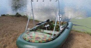 Лодка с таргой