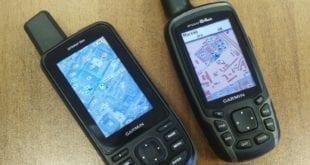 Новый навигатор Garmin GPSMAP 66st и старый 64
