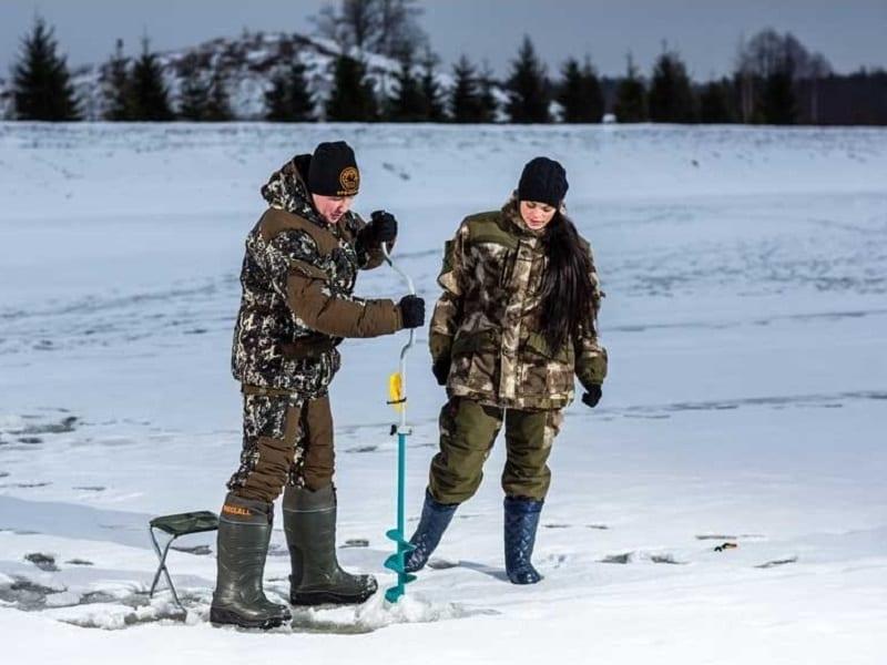 Костюм для зимней рыбалки «Снежный барс»