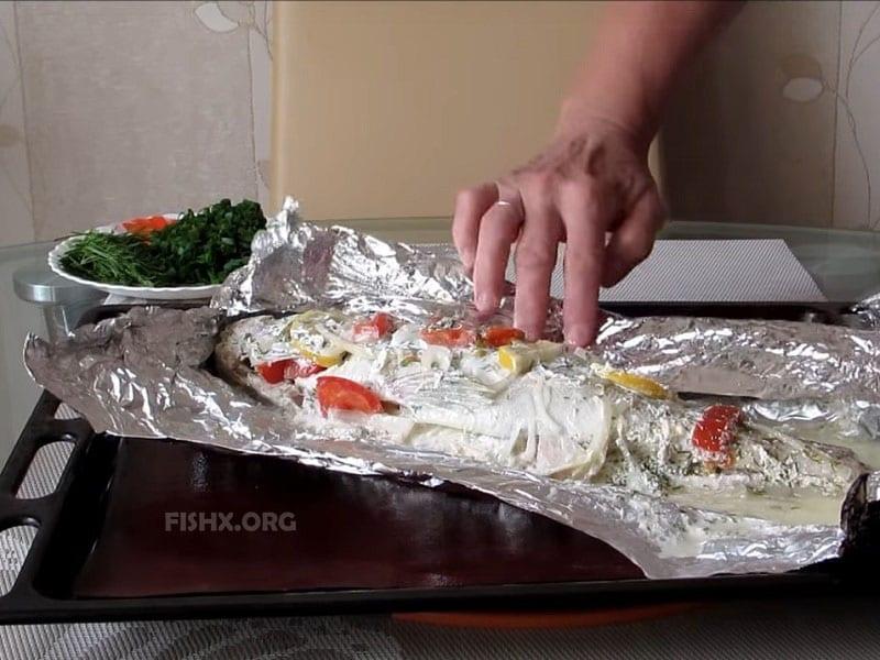 Как приготовить судака в фольге