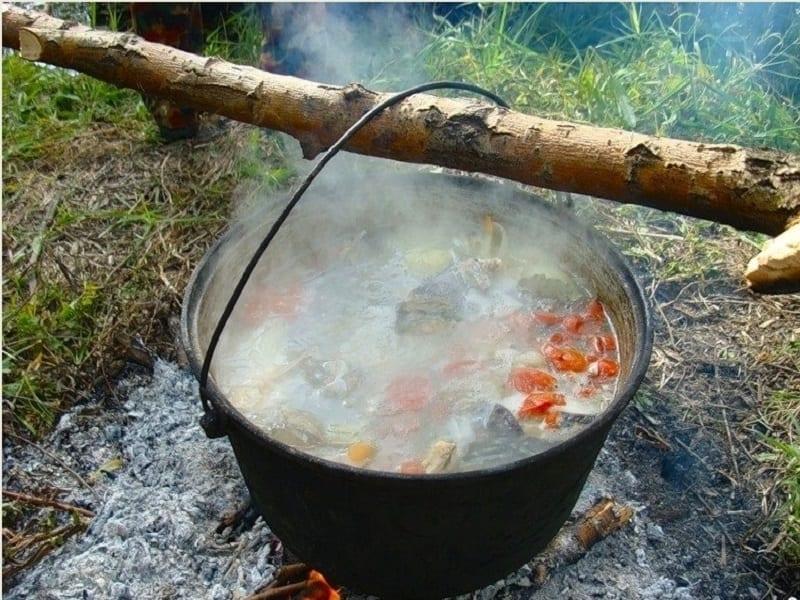 Что можно приготовить в жару на рыбалке