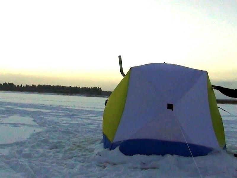 Ночь на льду в палатке и весёлая рыбалка