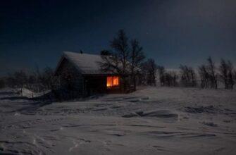 Ночью на заброшенном кладбище