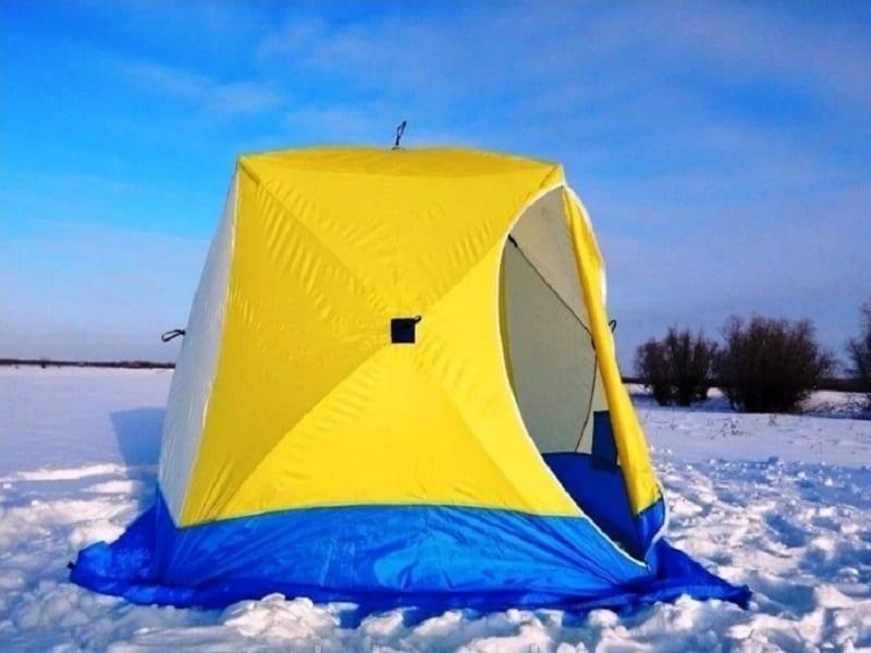 Палатка Стэк КУБ 2. Трехслойная, дышащая