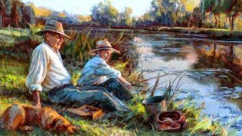 Раньше в очередях давились за книгами о рыбалке