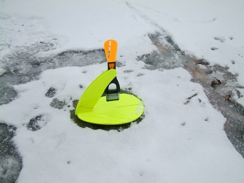 Ловля щуки в конце ледового сезона