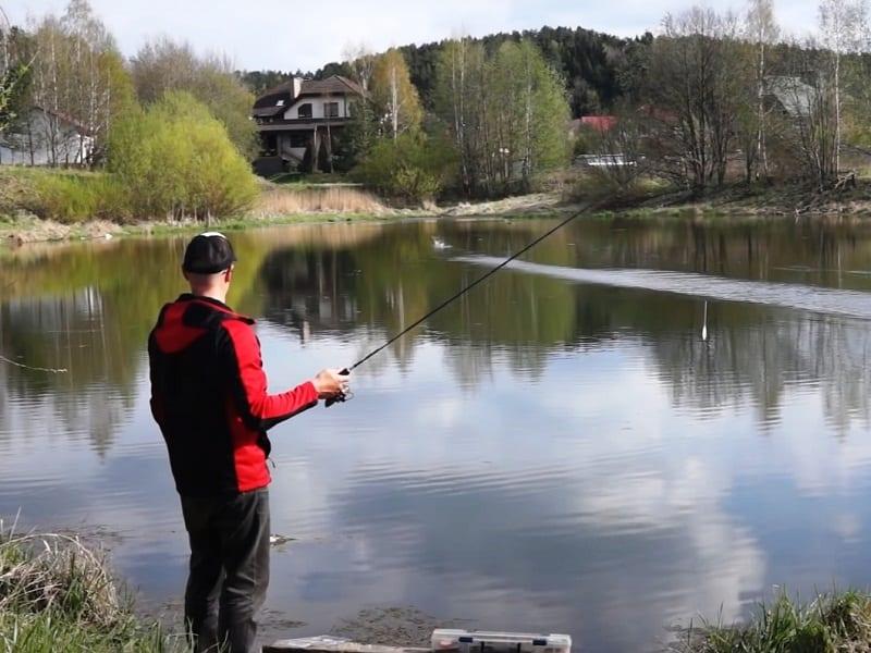 Рыбалка на бомбарду