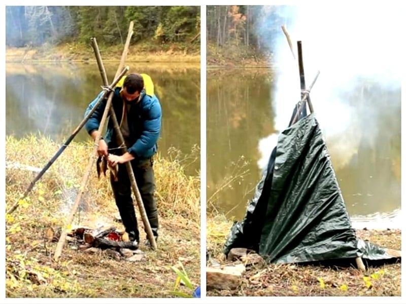 3 способа закоптить рыбу на рыбалке