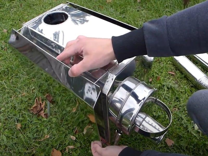 Печь пошехонка Турист 30 л с экранами