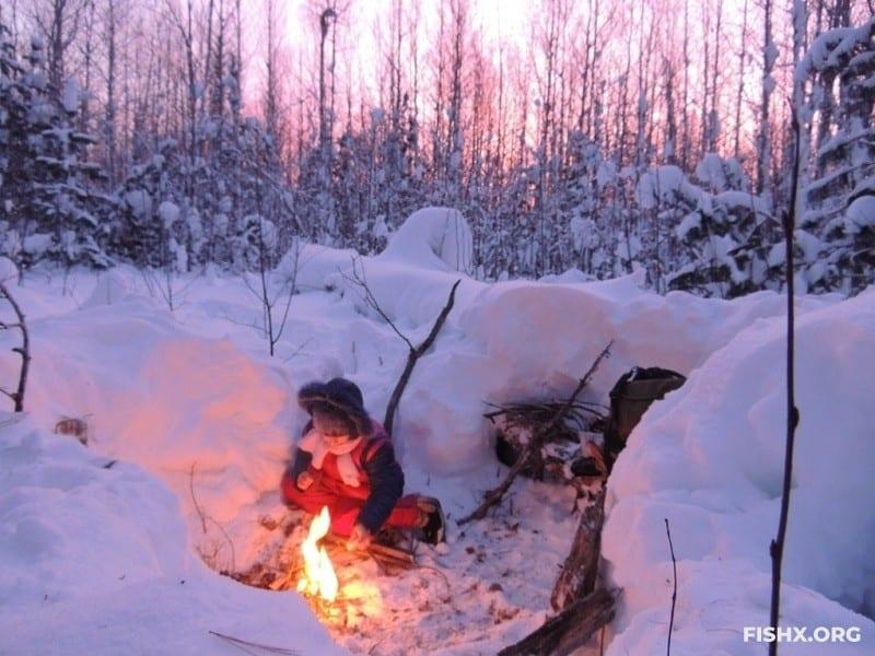 Варианты зимнего ночлега