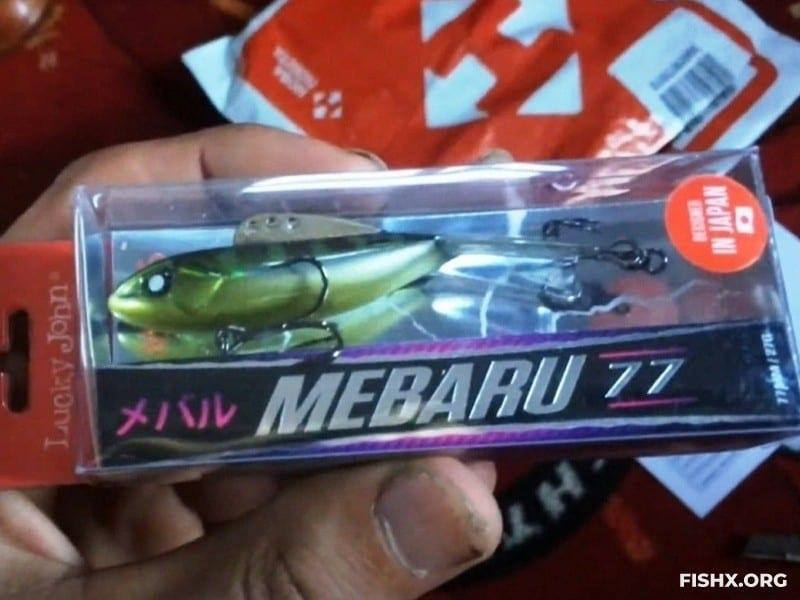 Балансир Lucky John Pro Series Mebaru 77 мм