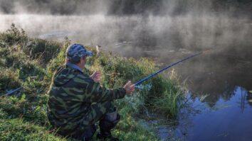 Ловля рыбы летом в жару