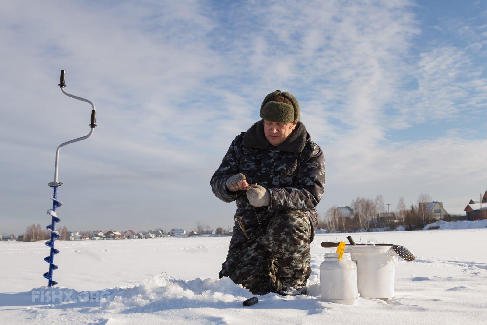 Окунь зимой - Секретное оружие против зимнего окуневого бесклевья