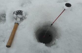 Зимняя ловля на мормышку