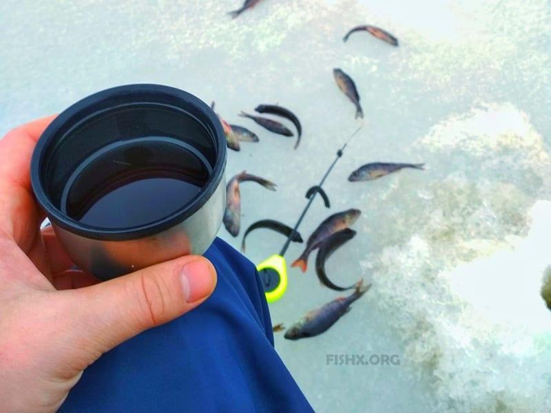 Вкусные и полезные напитки на рыбалке