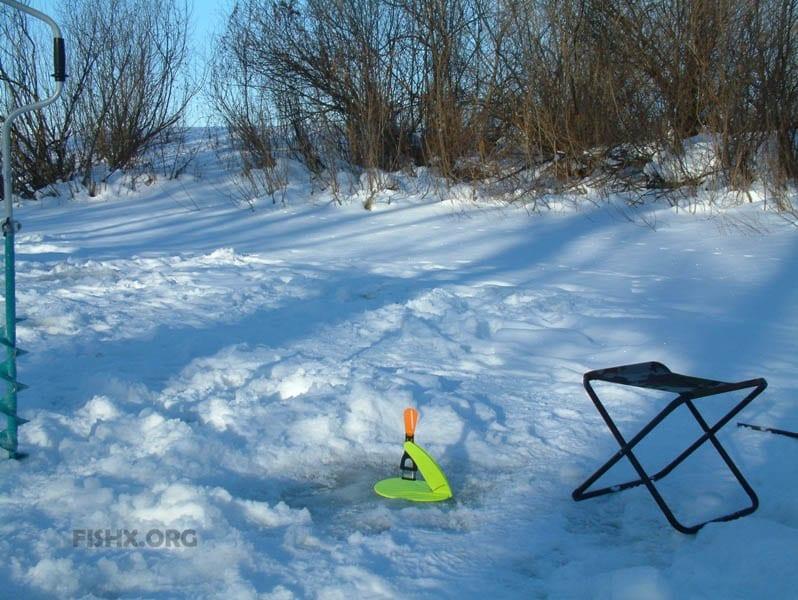 Зимняя рыбалка на всесезонные жерлицы