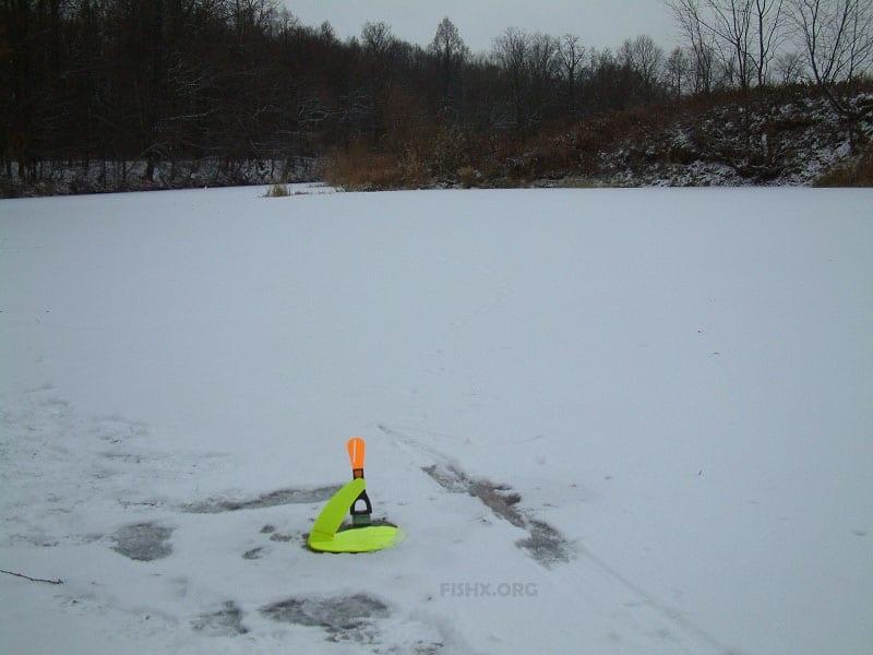 За налимом по первому льду