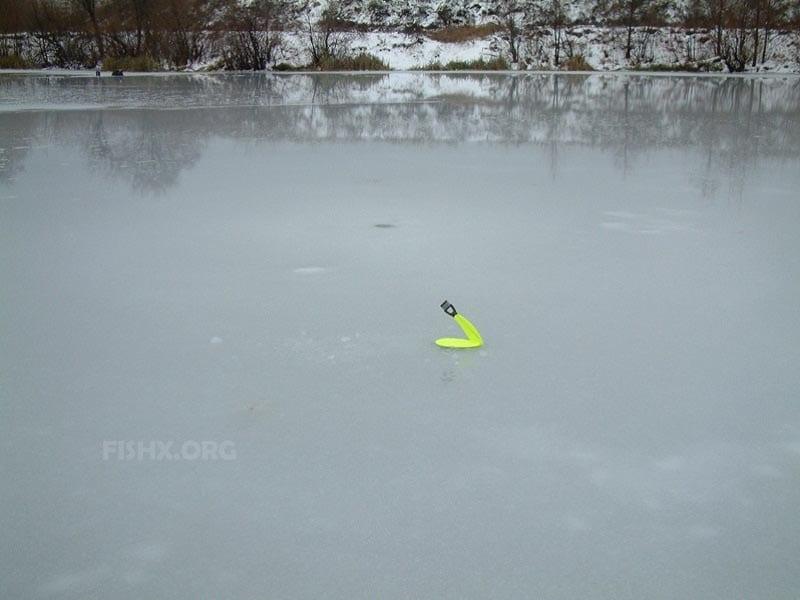 Первый лёд. Проблемы с живцом