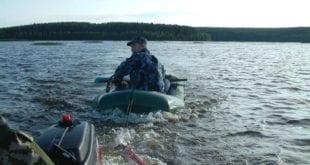 Отчёт о рыбалке на волжской протоке