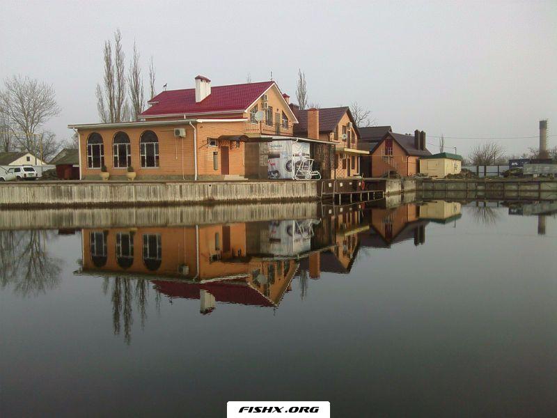 Рыбалка в хуторе Садки
