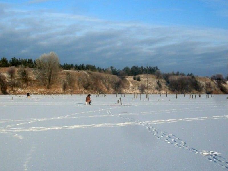 Дзержинский хутор зимой