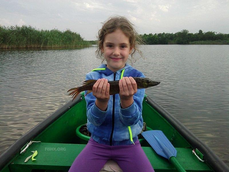 Организуйте рыбалку для детей