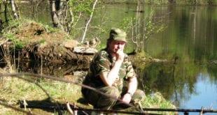 Ловля язя на поплавок весной, река Рутка