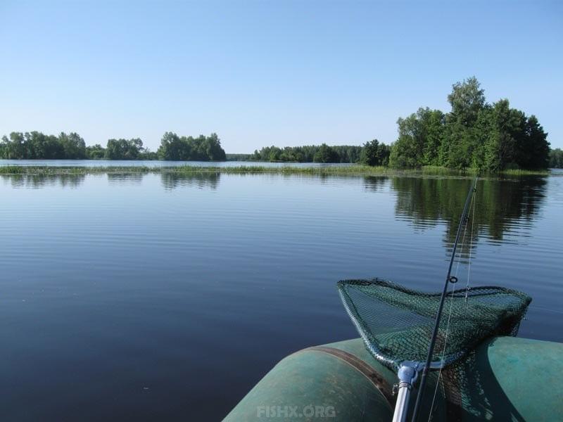 Рыболовное место на Малой Кокшаге