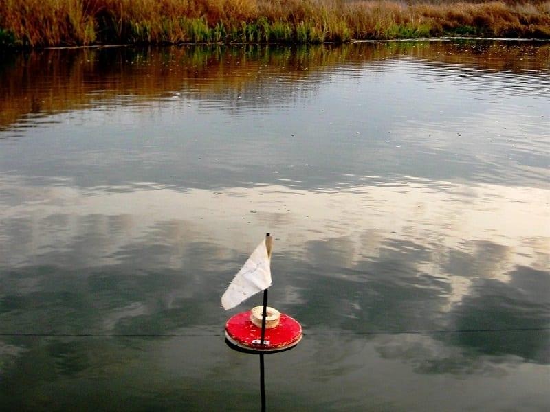 Плавающая жерлица, кружок