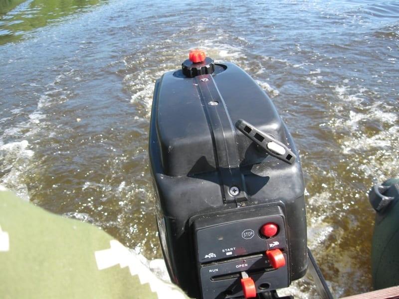 Обкатка мотора и немного рыбалки
