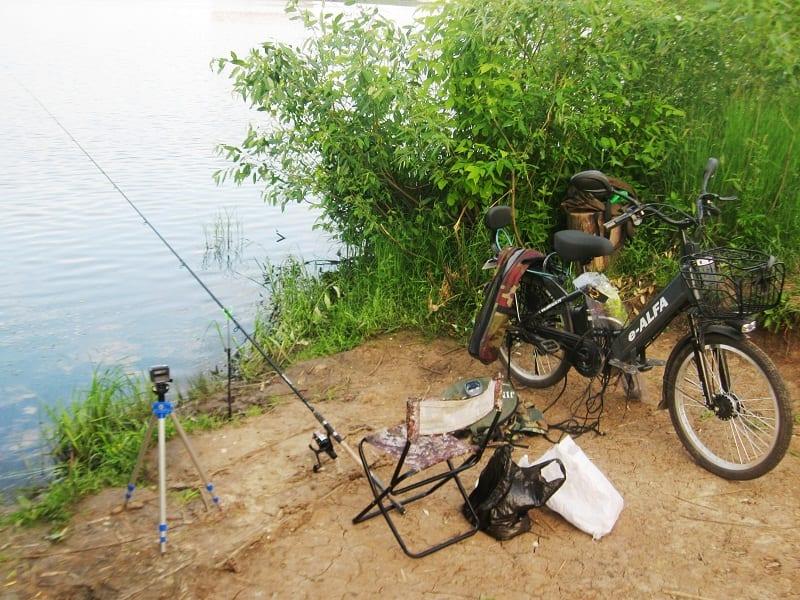 Электровелосипед для рыбалки