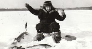На озере Лужъяр меня обловил сын