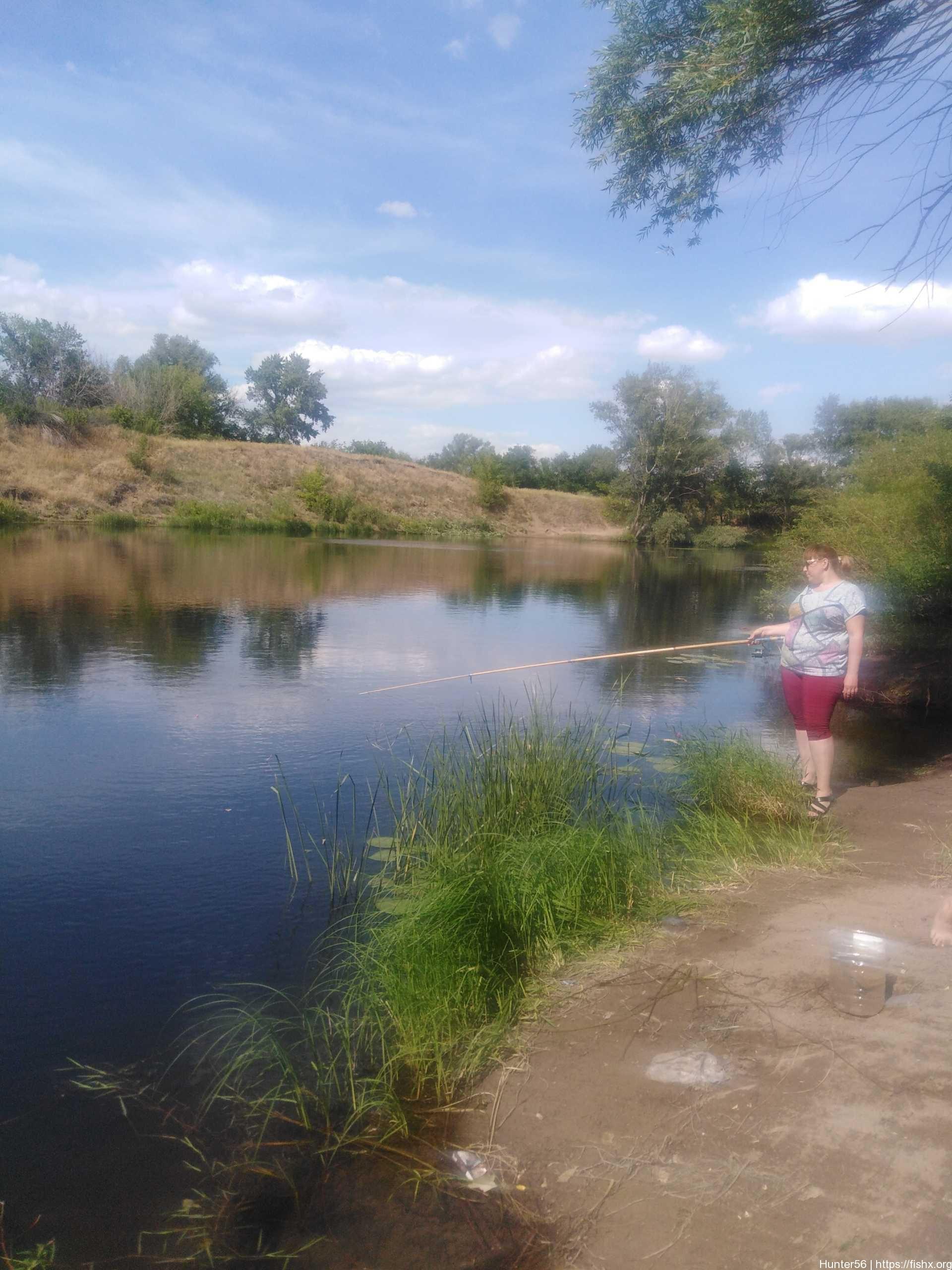 Ловля уклейки на реке Урал