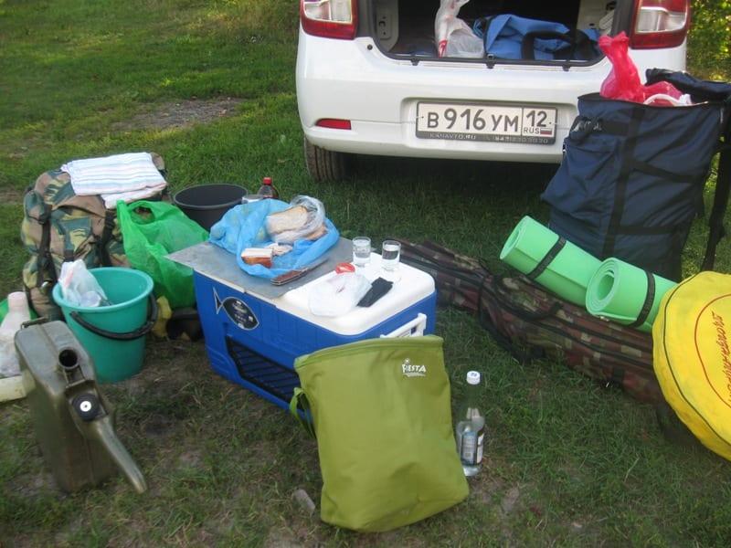 Изотермическая сумка для рыбалки