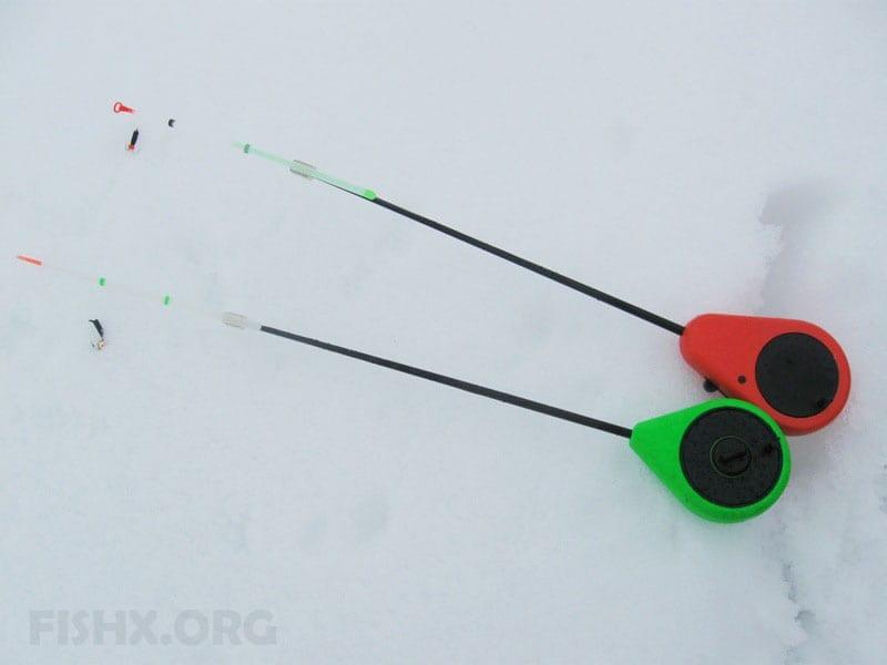 Зимняя удочка для ловли на безмотылки
