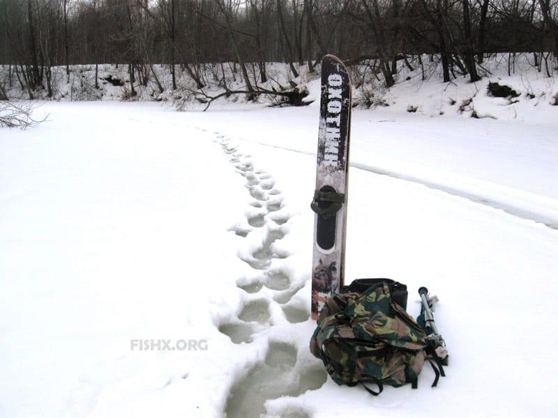 Рыбалка со льда весной