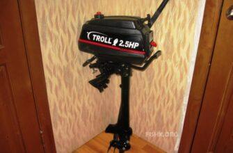 Тролл 2.5HP - описание мотора для лодки
