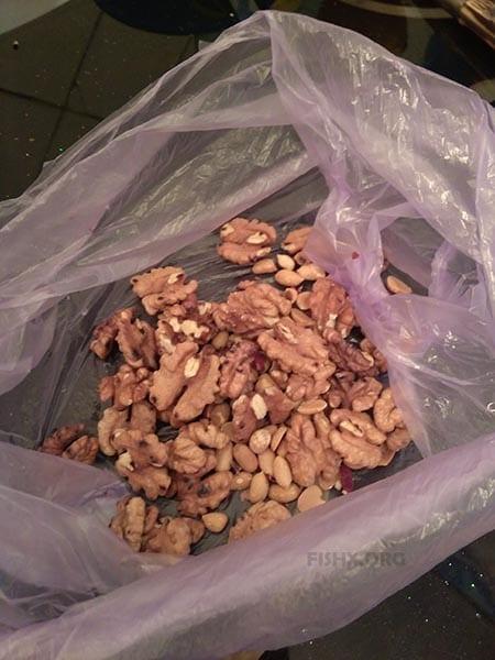 Готовим панировку из орехов
