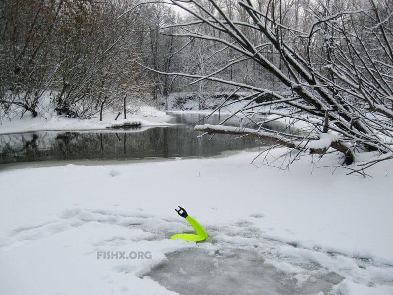 Как искать уловистые места на реках