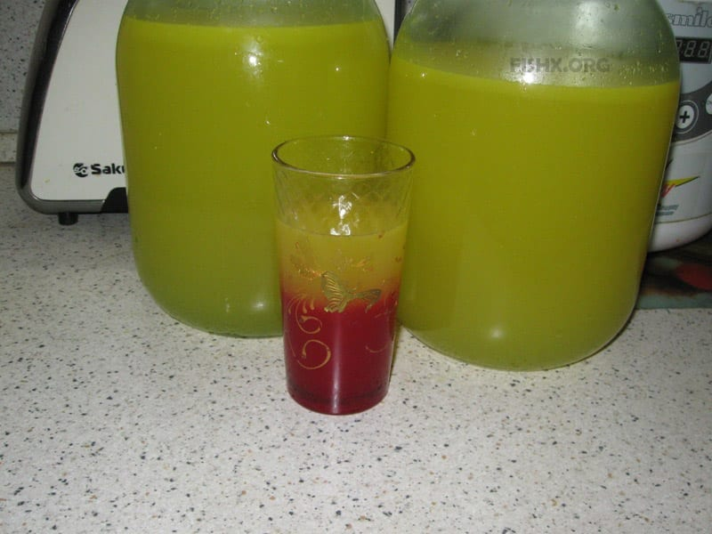 Натуральный напиток для утоления жажды