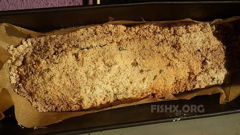Рыба в соляном панцире из духовки