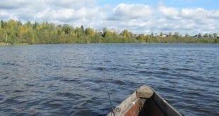 Осенняя рыбалка на водохранилище